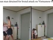 韩国籍男人暴打其越南老婆行为力引起韩国舆论的愤怒