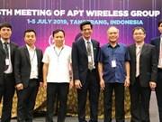 越南代表首次当选亚太电信组织无线电工作组会议主席