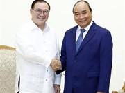 越南政府总理阮春福会见菲律宾外长
