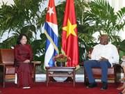 越南国家副主席邓氏玉盛对古巴进行正式访问