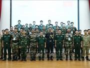 2019年越南—印度联合国维和行动沙盘模拟联合演练在河内举行