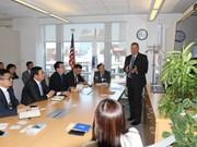 越美加强政策咨询研究合作和知识共享活动