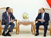 阮春福总理会见马来西亚驻越大使扎姆鲁尼•哈立德