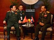越老防务合作是两国关系中的重要支柱
