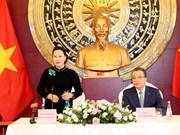 阮氏金银访华:造访越南驻华大使馆