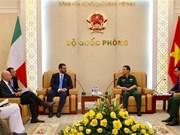 越南与意大利举行第三次防务政策对话