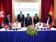 越南与瑞士将继续合作发展生态工业区