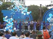"""河内市荣获""""和平城市""""称号20周年庆祝活动精彩纷呈"""