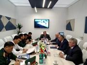 越南代表团出席第九届国际海事防务展
