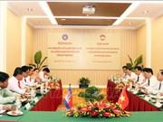 越柬两国加强祖国阵线工作合作