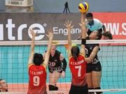 第三次亚洲U23女排锦标赛在河内举行