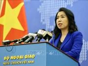 越南外交部发言人回答国内外记者关于东海最近情况的提问