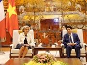 促进越南河内市与法国法兰西岛合作关系