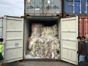 柬埔寨把83个塑料垃圾集装箱退回美国和加拿大