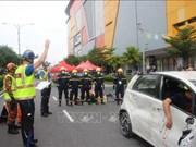 越南参加马来西亚世界应急救援锦标赛