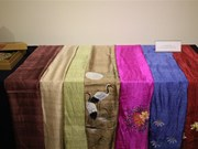 越南土锦与丝绸展览会在韩国举行