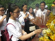 2019年越南夏令营:越侨青少年参访广义省