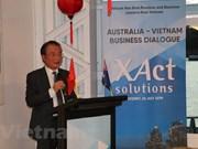 澳大利亚-越南企业对话会在澳大利亚举行