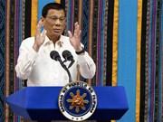 菲律宾总统呼吁继续打击贩毒和反腐