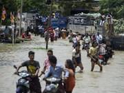 特大洪水袭击  缅甸疏散撤离数千人