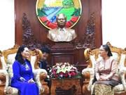 胡志明市与老挝万象市深化合作关系