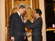 德国驻越南大使被授予友谊勋章
