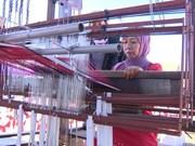 丝绸与土锦文化节在会安市举行