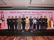 越南参加第52届东盟外长会议筹备会议