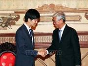 日本外交官:日本政府将继续协助越南促进经济发展