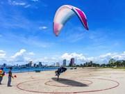 同奈省测站山被评为全国最理想的滑翔伞基地