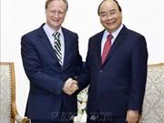 越南政府总理阮春福会见爱尔兰和欧盟客人