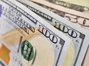 8月2日越盾对美元汇率中间价上涨11越盾