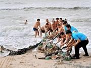平顺省环境清洁活动吸引数百人参加