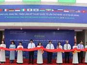 首届国际美术创作及交流展览活动在岘港市开幕