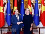 越南政府总理阮春福会见欧洲委员会副主席