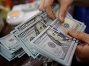 8月5日越盾对美元汇率中间价上涨10越盾
