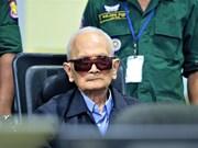 ECCC :93岁的柬埔寨红色高棉前领导人去世