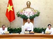 越南政府总理阮春福:本着及时高效的方针开展灾后重建工作