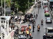 泰国曼谷爆炸事件:泰国警方搜捕十余名嫌疑人