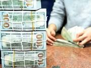 8月8日越盾对美元汇率中间价下降10越盾