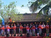 2019年第五届越南-世界丝绸与土锦文化节正式开幕