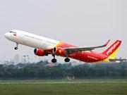 """受""""利奇马""""台风影响越捷取消8月9日飞往台北的航班"""
