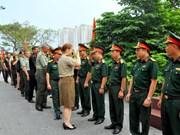 各国驻越南国防武官代表团访问海防市和广宁省