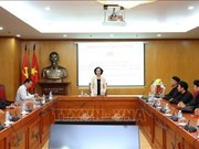 中央民运部部长张氏梅:动用各种资源来促进少数民族和山区全面发展