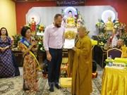 旅居捷克越南人的首个州级佛教文化中心问世