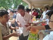 西宁省医生为柬埔寨贫困人口提供免费服务