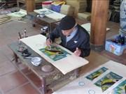 东湖民间画申报入选《急需保护的非物质文化遗产名录》的档案正在完善中