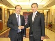 越南与新加坡外交部召开第十二次政治磋商