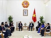 阮春福总理:越南愿同老挝加强监察领域的合作