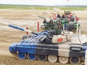 2019年俄罗斯国际军事比赛:越南坦克队赢得小组第二名